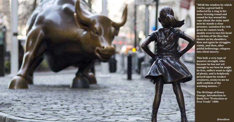 george merril bull girl