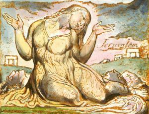 Enitharmon (spiritual beauty) plate 92, Jerusalem