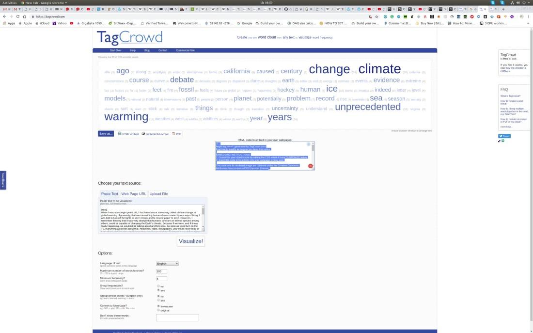 Mann summary tag cloudWorkspace 1_321