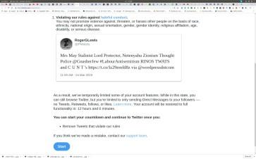 Hateful COnduct Twitter