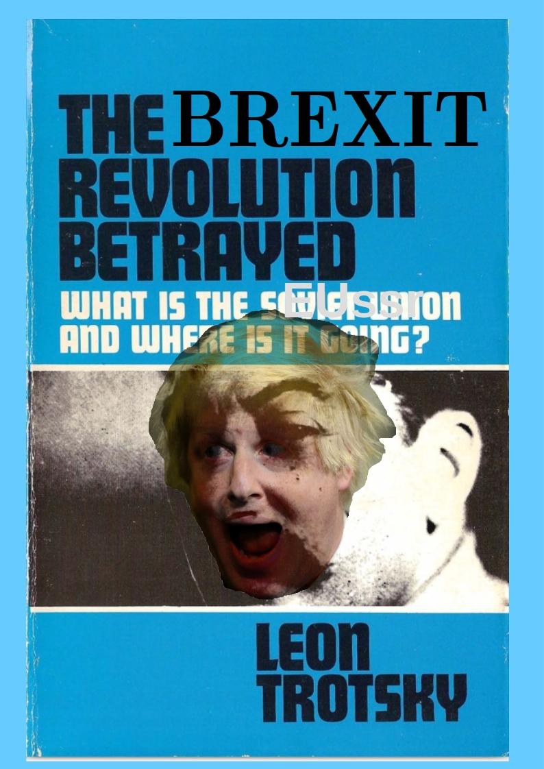 Brexit Revolution Betrayed1