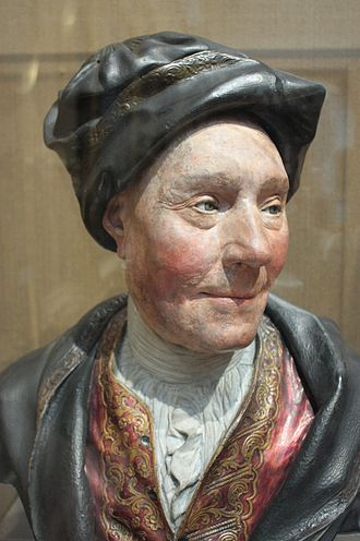 Colley_Cibber_c.1740,_painted_plaster_bust,_National_Portrait_Gallery,_London
